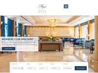 Ajax Hotel limassol Website Screenshot