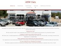 ANW Cars Ltd. Website Screenshot