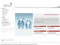 Argus Stockbrokers Website Screenshot