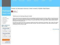 Astreas Hotel Apartments Website Screenshot