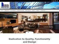 Buildia Construction Website Screenshot