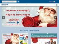 Groupe Carrefour Website Screenshot
