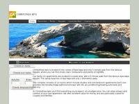Christothea Apartments Website Screenshot