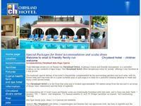 Chrysland Hotel Website Screenshot