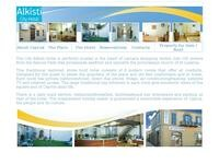 Alkisti City Hotel Website Screenshot