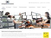 Computer Land Centre Website Screenshot