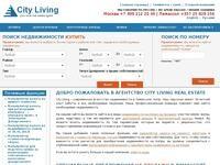 City Living Real Estate Website Screenshot