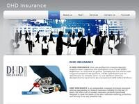 DHD Insurance Agents Website Screenshot