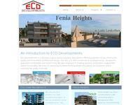 Eco Developments Website Screenshot