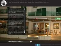 Eligonia Hotel Apartments Website Screenshot
