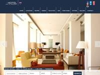 Hotel e Larnaca Website Screenshot