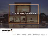 A M Ikodomia Website Screenshot