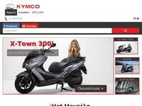 KYMCO Website Screenshot