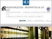 Agathokleous - Neophytou & Co LLC Website Screenshot