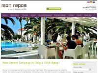 Mon Repos Hotel Website Screenshot