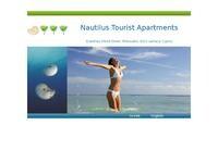 Nautilus Apartments Cyprus Website Screenshot