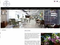 Nereus Hotel Website Screenshot