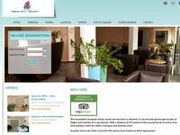 Pandream Hotel Apartments Website Screenshot