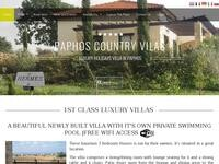 Paphos Country Villas Website Screenshot
