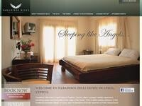 Paradisos Hills Website Screenshot