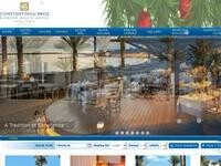 Pioneer Beach Hotel Website Screenshot