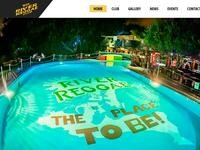 River Reggae Website Screenshot