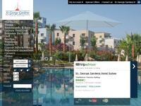 St George Gardens Paphos Website Screenshot
