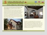 Strela Construction Ltd Website Screenshot