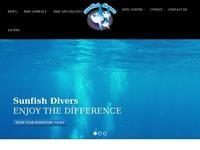 Sunfish Divers Website Screenshot