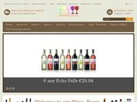 Wines and More Website Screenshot