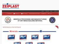 Zeiplast Website Screenshot