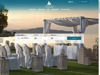 Atlantica Sancta Napa Hotel Website Screenshot
