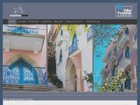 Axiothea Hotel Website Screenshot
