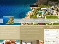 Azia Hotel Paphos Website Screenshot