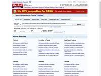 BuySell Cyprus Real Estate Website Screenshot