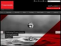 Andreas Coucounis &Co Website Screenshot