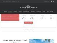 Crown Resorts Henipa Website Screenshot