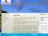 Kefalos Beach Tourist Village Website Screenshot