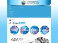 Car Airconditioning Centre Website Screenshot