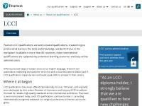 LCCI Cyprus Website Screenshot