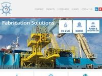 Multimarine Services Website Screenshot