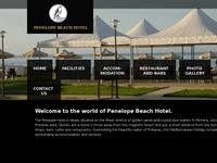 Farkonia Hotel Website Screenshot