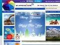 Katerina Travel Website Screenshot