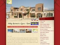 Avillion Holiday Apartments Website Screenshot