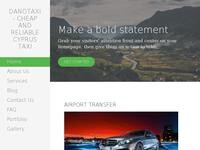 Dano Taxi Website Screenshot