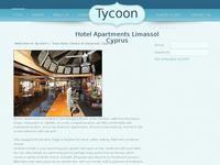 Tycoon Apartments Limassol Website Screenshot