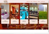 Aktea Beach Website Screenshot