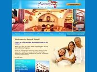Averof Hotel Website Screenshot