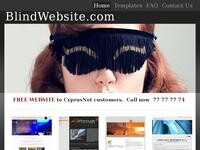 Blind Website Website Screenshot