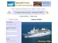Regency Mini Cruises Website Screenshot
